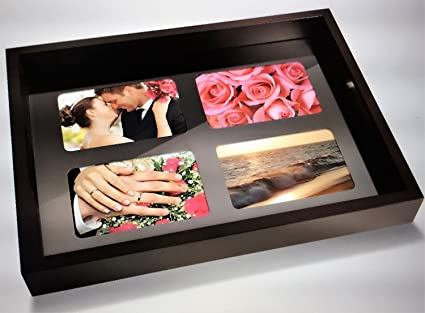 Amazon.com: Wooden Photo Frame Serving Tray: Kitchen & Dining