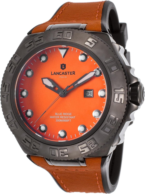 [ランカスター]Lancaster Italy 腕時計 OLA1062L-GUN-AR-AR メンズ [並行輸入品]