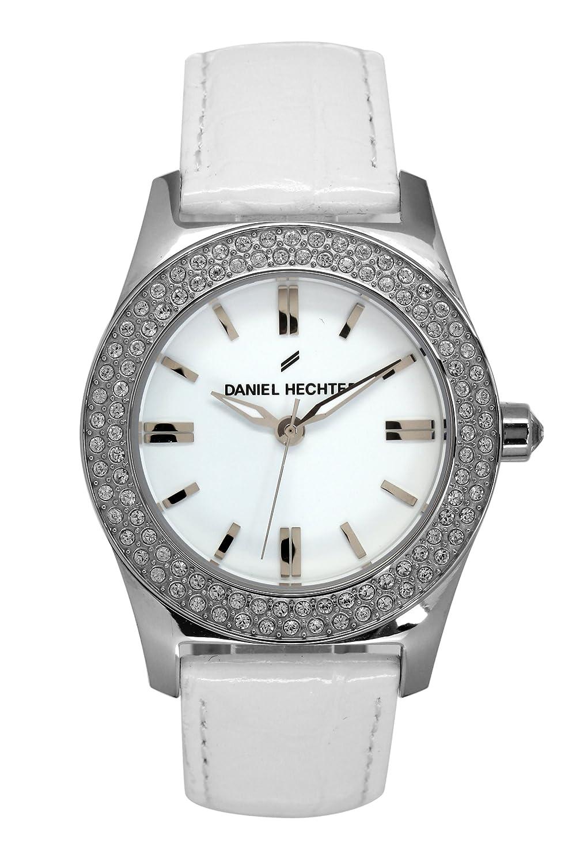 Daniel Hechter Damen-Armbanduhr Analog Quarz Leder DHD 003S-BB