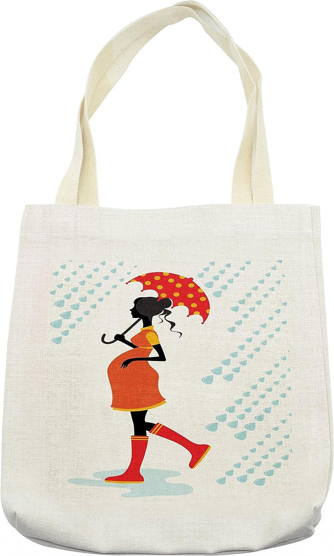 Lunarable Bolso para Paraguas, Silueta para Mujer ...