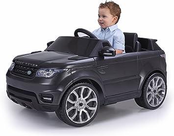 FEBER Range Rover Sport Coche eléctrico para niños de 3 a 7 años de Juguete, 6V, Color Negro (Famosa 800009610)