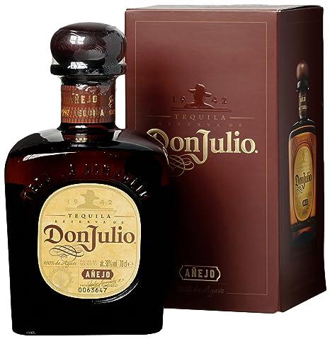 Don Julio Anejo Tequila 700 Ml Amazon Es Alimentacion Y Bebidas
