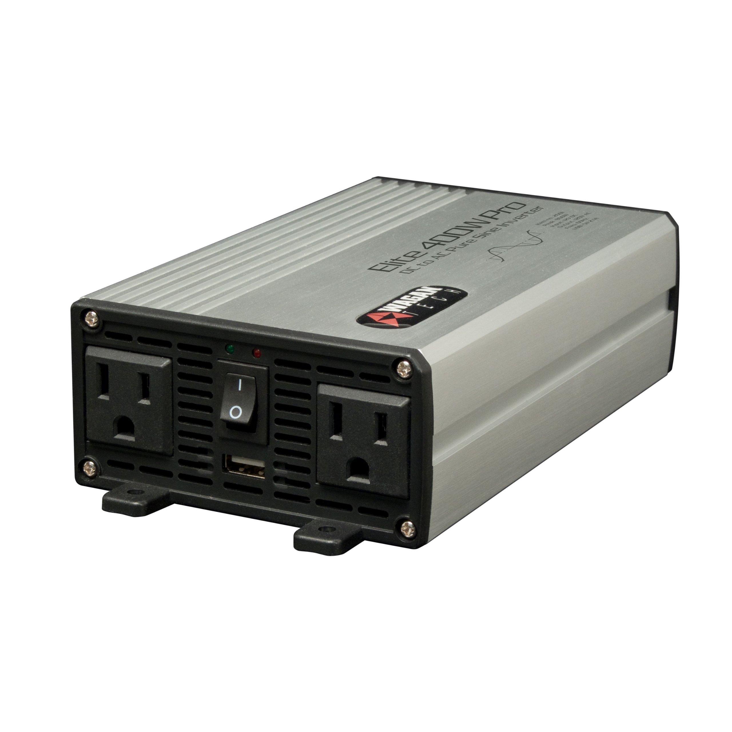 Wagan EL2601 Elite 400W Pro Pure Sine Inverter