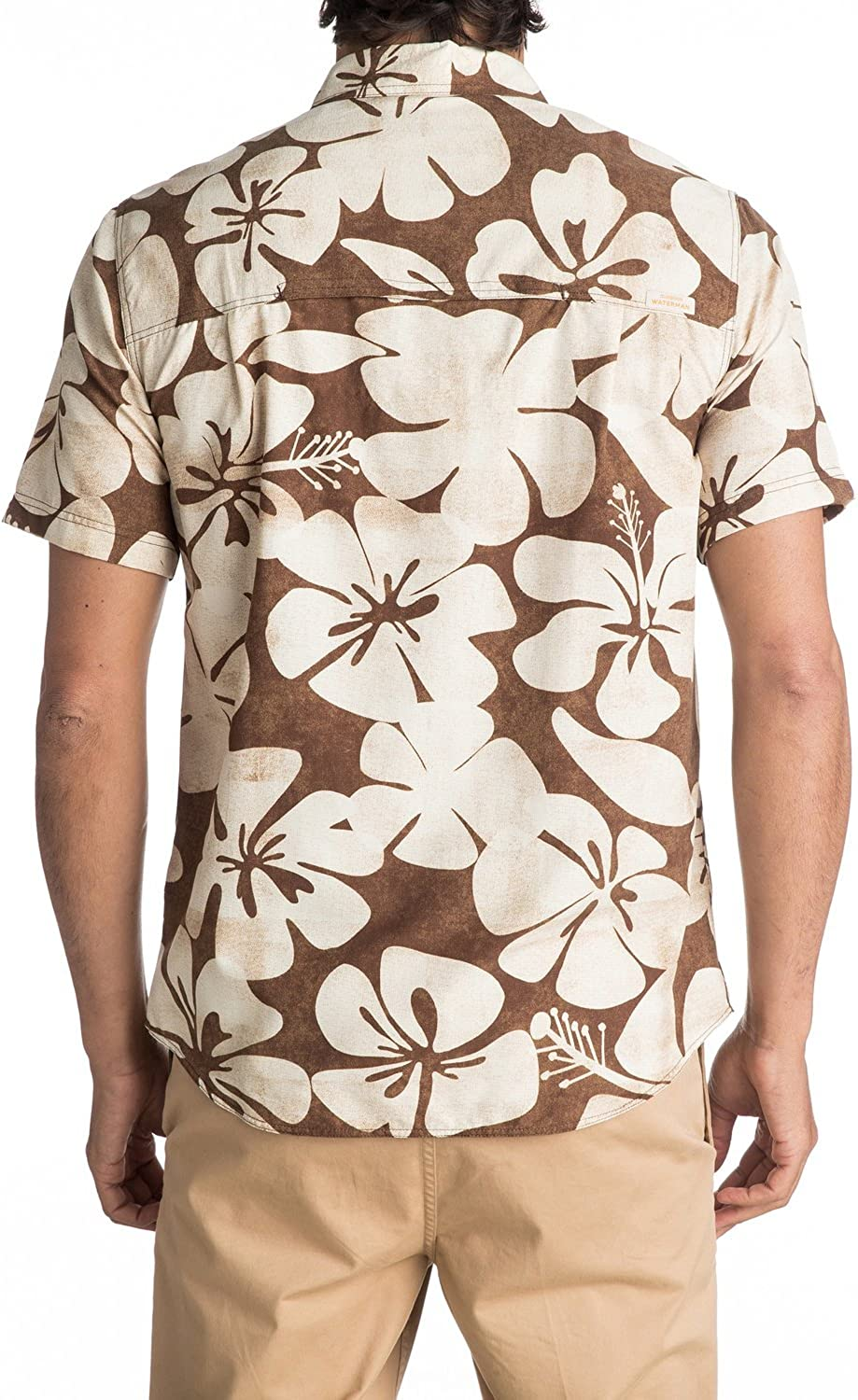 Quiksilver Mens Wake Idyll Button Down Shirt with Back Vent