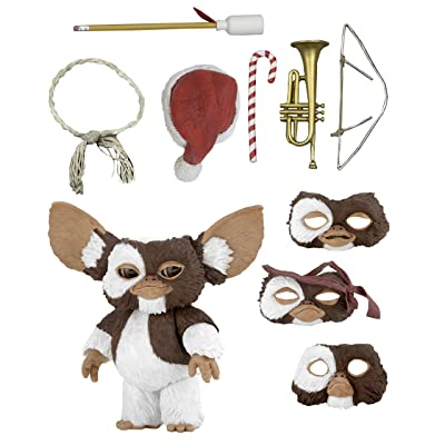 "NECA Gremlins Ultimate Gizmo Scale Action Figure, 7"", Multicolor: Toys & Games"