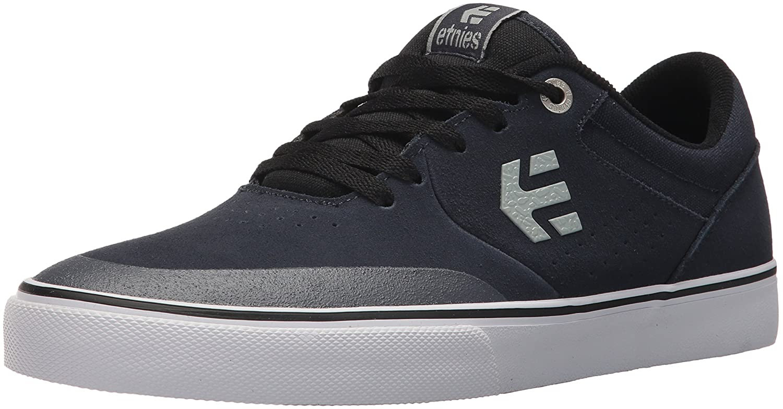 Etnies Marana Vulc Zapatillas De Skate, de Cuero, para Hombre 41 EU|Blue (Charcoal)