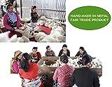 Organic Wool Dryer Balls - Grey 6 XL Premium