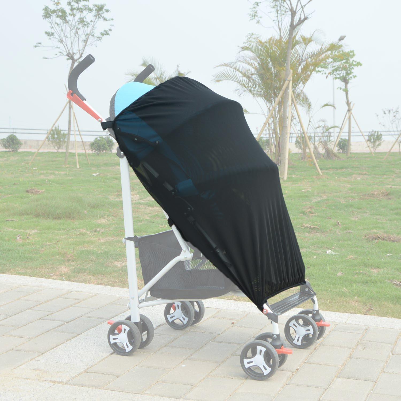 Universal Sunshade for Zeta Citi Black Stroller Buggy Zhiyi STROLLER-SHADE-ZETA