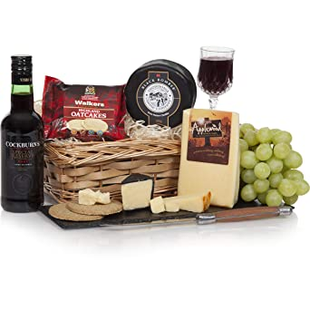 Christmas Port & Cheese Hamper