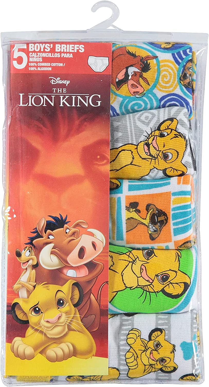 Disney Lion King 5 Pack Boys Brief