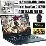 "2020 Premium Asus ROG Zephyrus M15 15 Gaming Laptop 15.6"" FHD IPS 144Hz Display Intel 6-Core i7-10750H 32GB DDR4 1TB…"