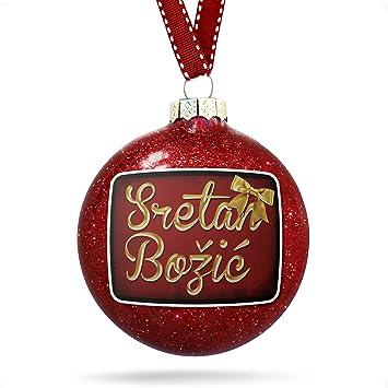 Weihnachten In Kroatien.Amazon De Neonblond Weihnachtsdekoration Frohe Weihnachten In