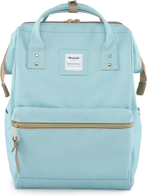 Himawari Travel School Backpack with USB Charging Port 15.6 Inch Doctor Work Bag for Women&Men College Students(XK-02#-USB- L)