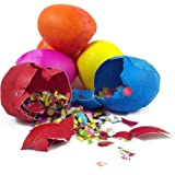 Cascarones (Confetti Eggs - One Dozen)--Colors Vary