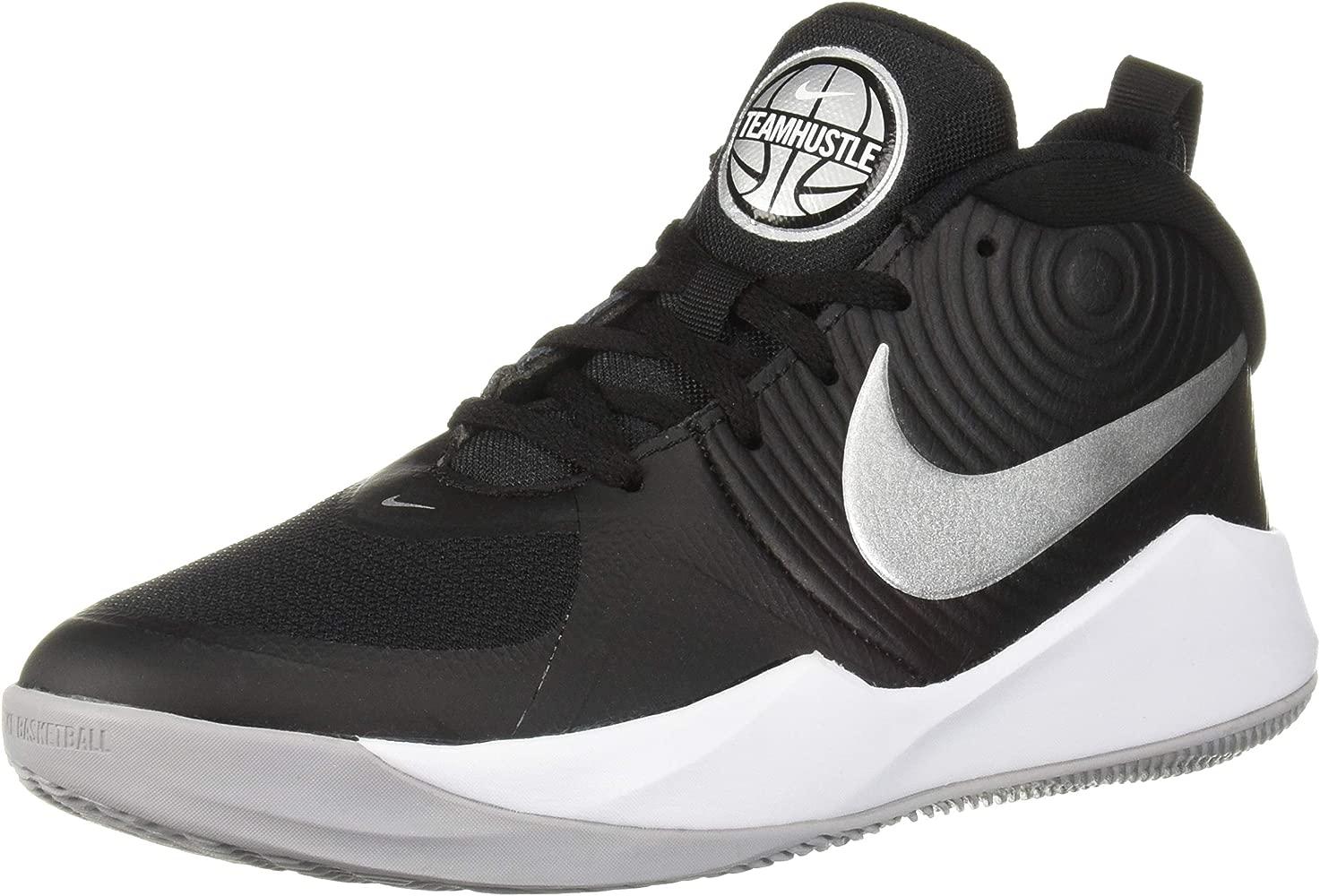 Nike Team Hustle D 9 (GS), Zapatos de Baloncesto Unisex Niños