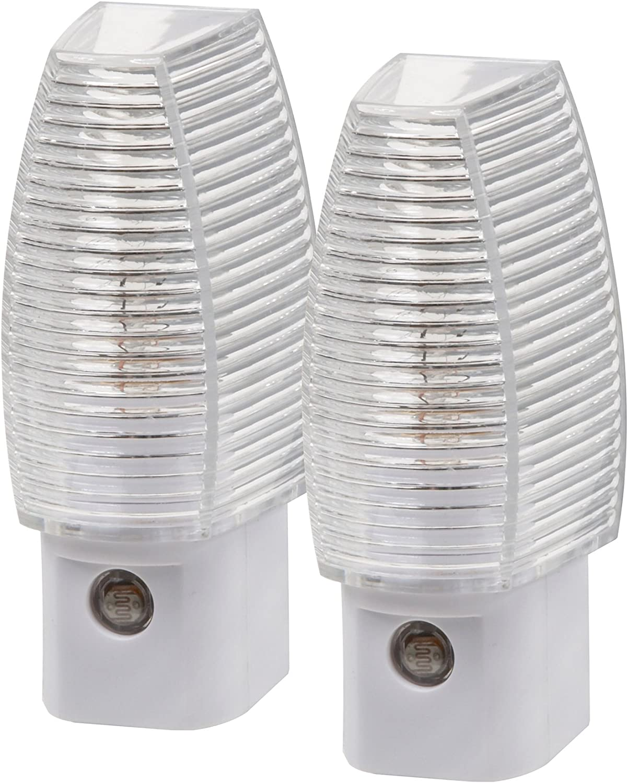 Amerelle  Manual  Plug-in  Classic  LED  Night Light w//Sensor