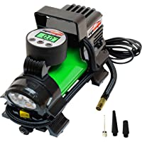 EPAuto Tire Inflator Digital 12V DC Portable Air Compressor Tire Pump