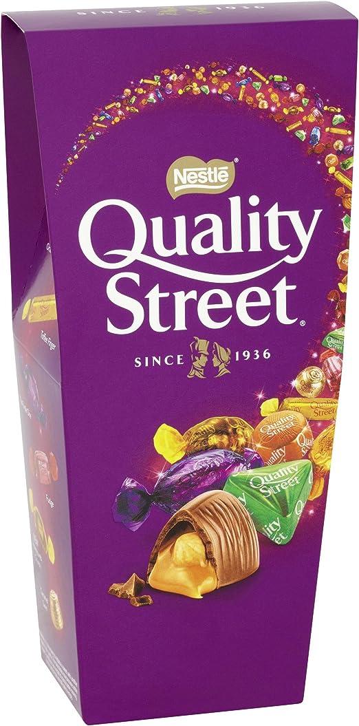 Quality Street Chocolate Assortment Carton, 265 g (Pack of 6): Amazon.es: Alimentación y bebidas