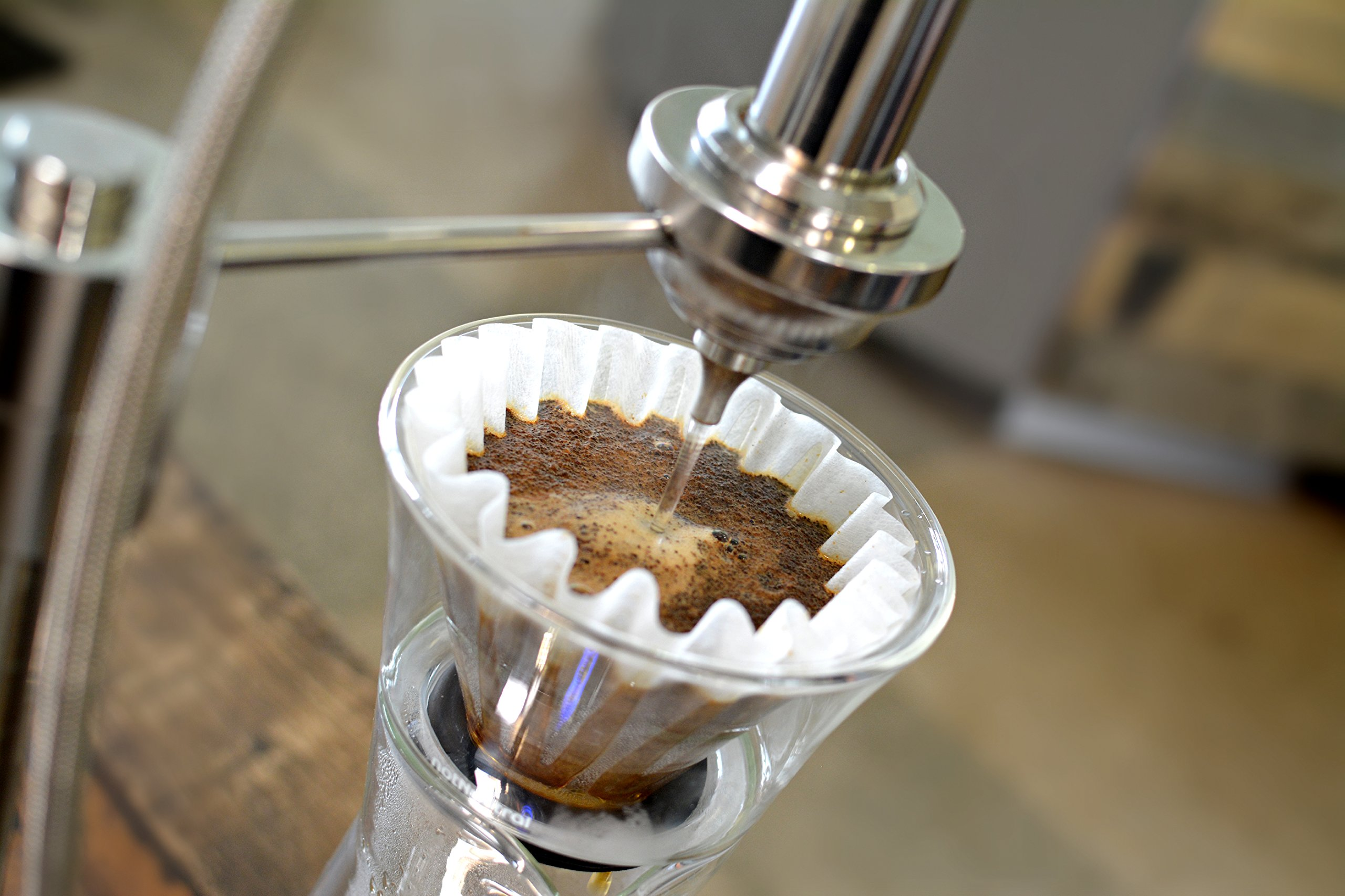 notNeutral GINO Pour-Over Coffee Dripper | Double-Walled Borosilicate Glass Dripper