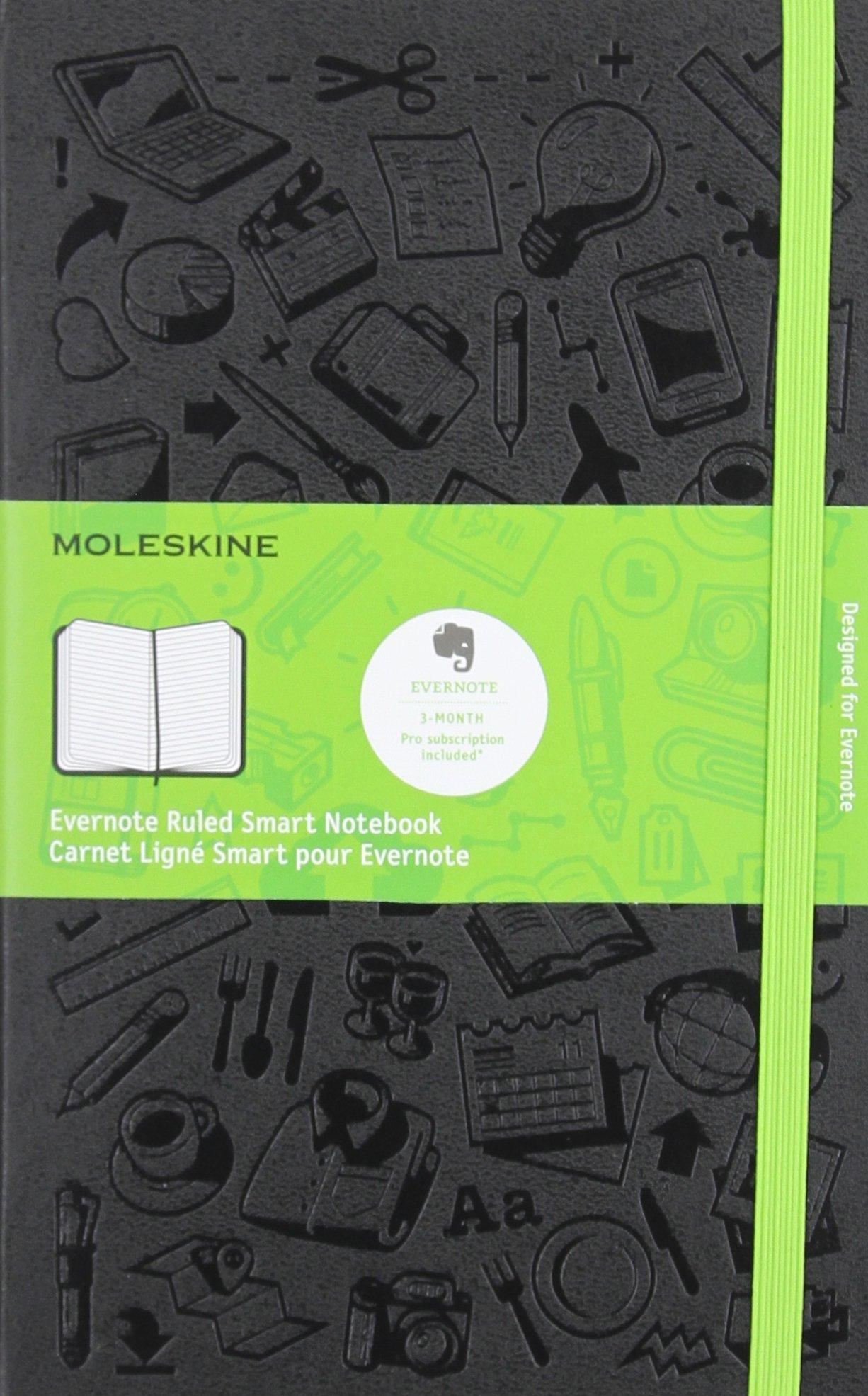 Moleskine Evernote Notebook Large Ruled
