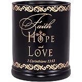 Amazon.com: Electric Jar Candle Warmers Crock Style Faith ...