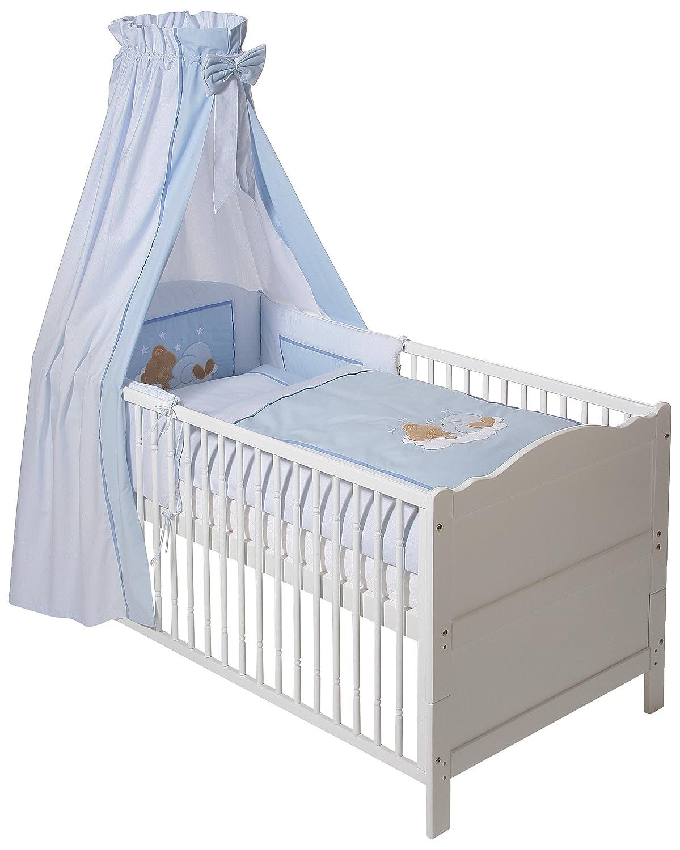 Easy Baby Bettset - Sleeping Bear Blau