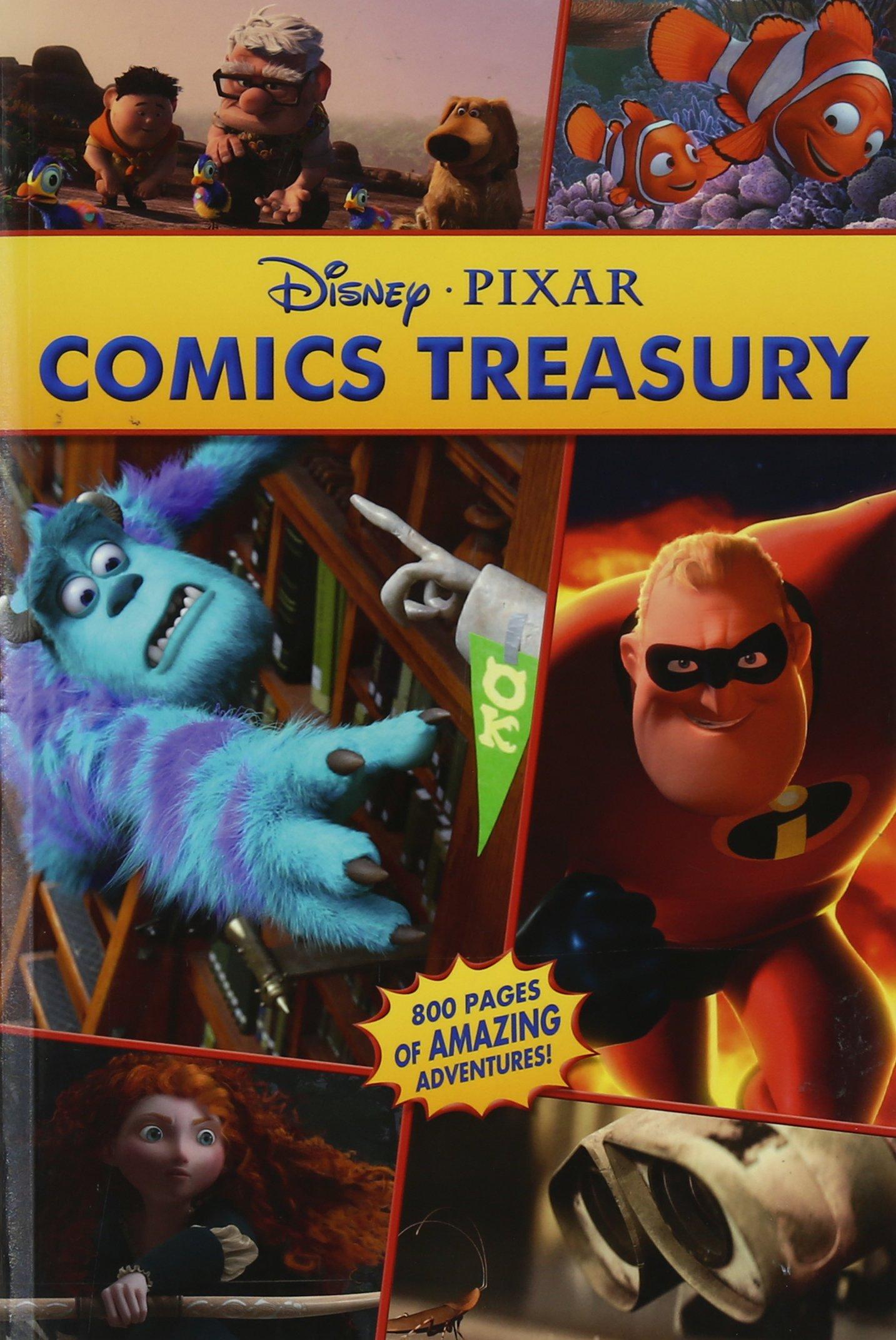 Disney Pixar Treasury Volume 1 Disney Pixar 9781926516011 Books Amazon Ca