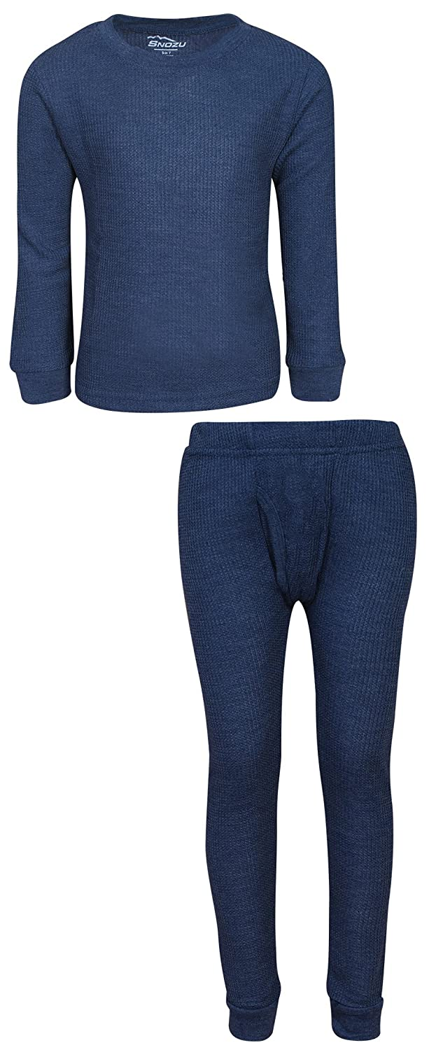 Snozu Boys Thermal Warm Underwear Top and Pant Set