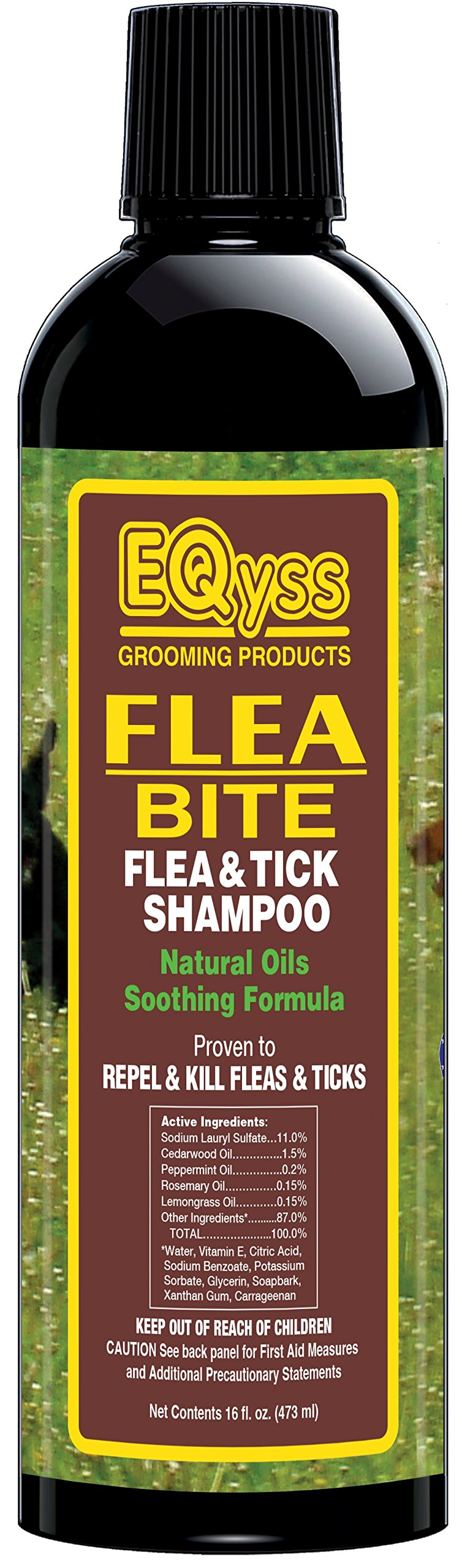 Eqyss Flea Bite Flea and Tick Shampoo for Pets (16 oz)