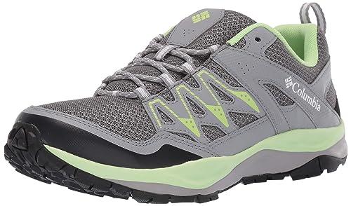 Columbia Wayfinder, Zapatillas de Senderismo para Mujer, Gris (Graphite, Jade Lime), 39 EU: Amazon.es: Zapatos y complementos