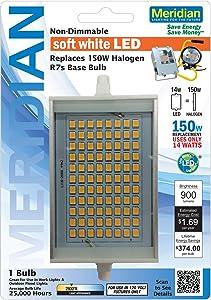 Meridian Electric 13159 Meridian 14-Watt R7 900-Lumen LED Bulb