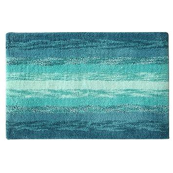 Bacova Guild Portico Blue Bath Rug, 20u0026quot; ...