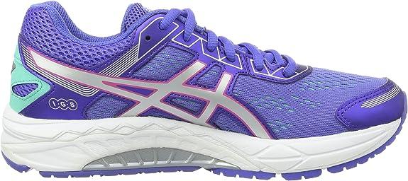 Asics Gel-Fortitude 7, Zapatillas de Running para Mujer, (Primrose Purple/Silver/Sport Pink), 38 EU: Amazon.es: Zapatos y complementos