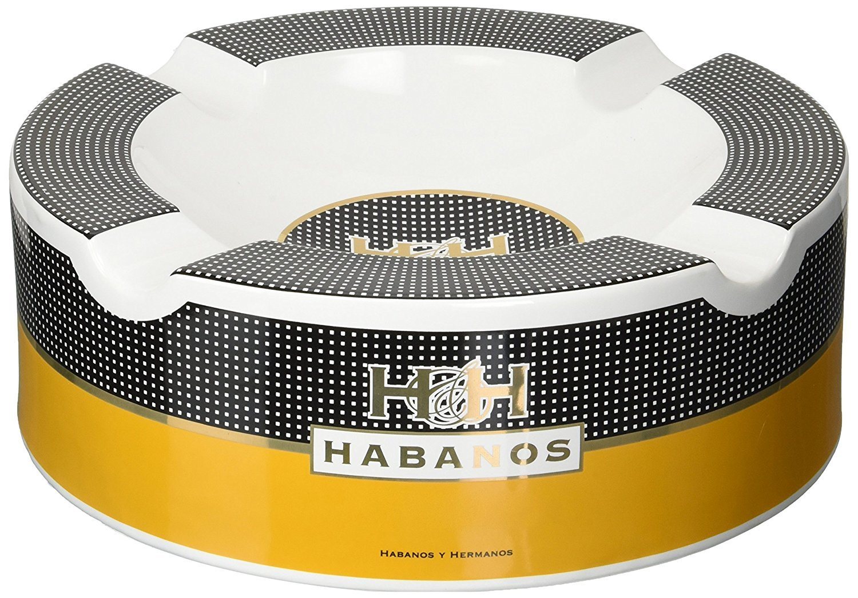 H&H Massive Cigar Ashtray (10'' x 3 1/4'')