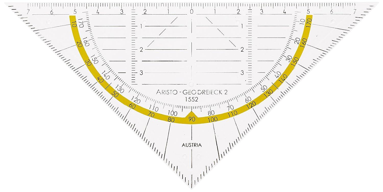 GEOtec Geosaver 16 cm mit Geodreieck 1552 im Aktionsset mit Motiv Comic