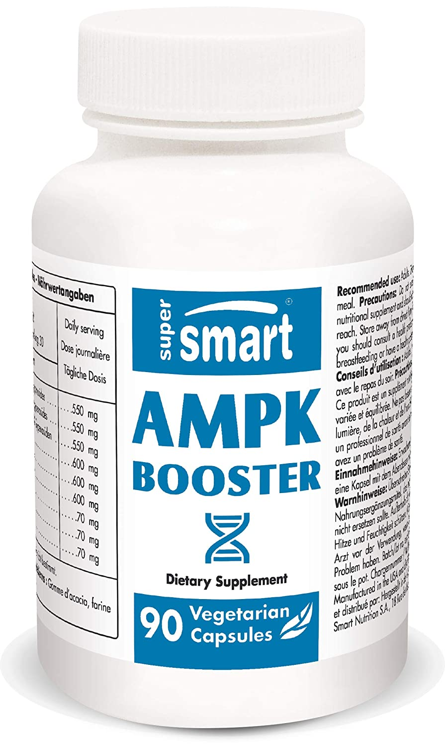 Supersmart - antiage - ampk Booster - 90 gel Veg - la Enzyme ...