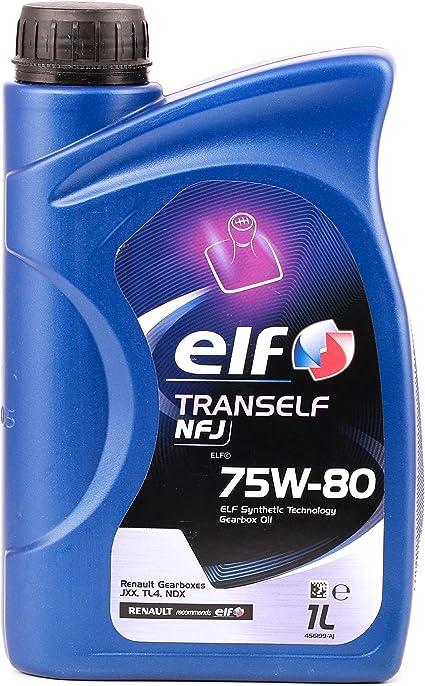 Elf - Trans nfj - Aceite de Caja de Cambios 75w-80, 1l