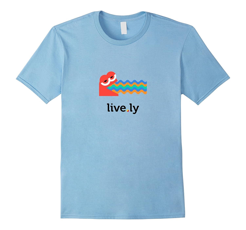 'Rainbow Puke' T-Shirt (Yellow/Blue/White/Gray - Fitted Cut)-Art