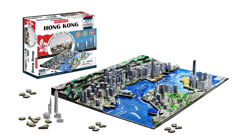 4D Cityscape 5512851 4D Cityscape Hong Kong Time Puzzle 4D Cityscape Inc