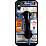 Payphone for iPhone Xs (2018) / iPhone X (2017) Case Cover by Atomic Market