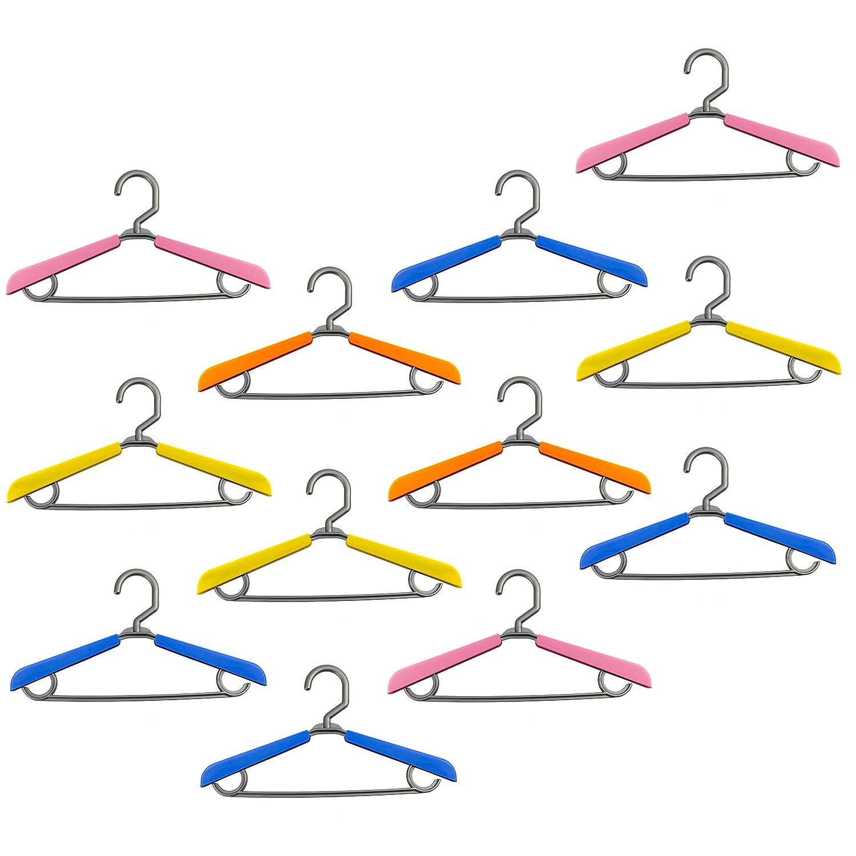 Lantelme 6736Set 12pezzi Telo Protettivo per Bambini–Baby grucce–allungabile in plastica colorato–Regolabile
