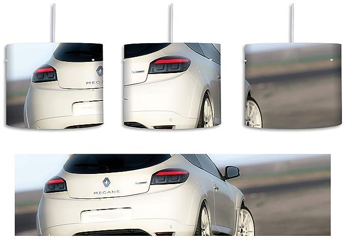 Lámpara de techo blanca con diseño de Renault Megane ...