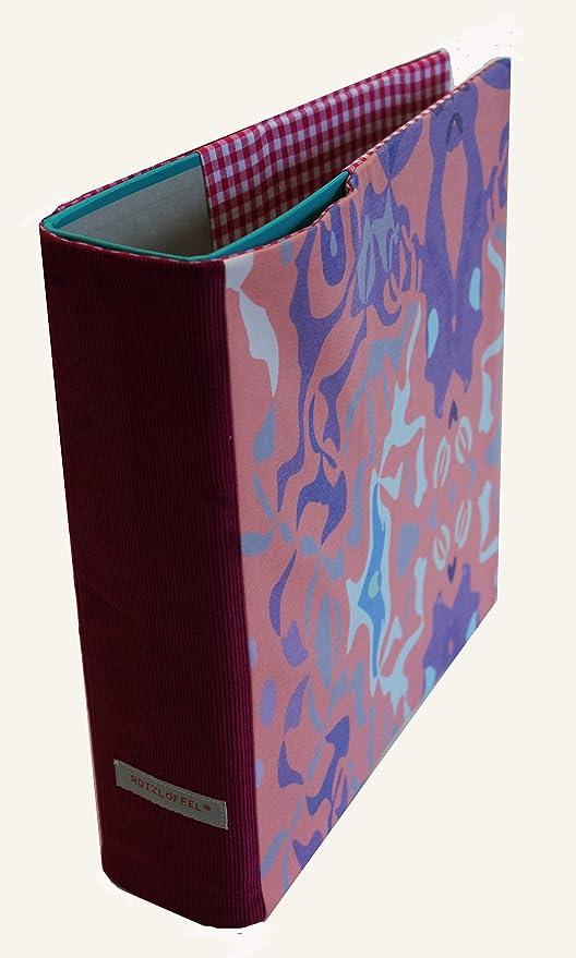 Carpeta móvil para archivadores DIN A4 Diseño Fantasy Rosa/Lila
