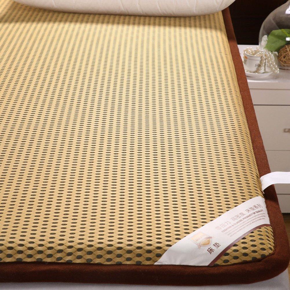 傾いたハード マットレス ベッド マットレス,ドミトリー マットレス マット,折りたたみ式畳マット キルト-B 150x200cm(59x79inch) B07PGFGXSJ B 150x200cm(59x79inch)