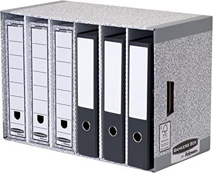 Fellowes System Module De Rangement Avec Tiroirs Pour Classeurs Ou Boites D Archives Amazon Fr Fournitures De Bureau