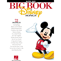 The Big Book of Disney Songs for Alto Saxophone book cover