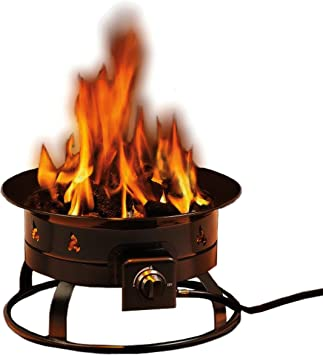 Amazon Com Heininger 5995 58 000 Btu Portable Propane Outdoor Fire Pit Gas Fire Pit Automotive