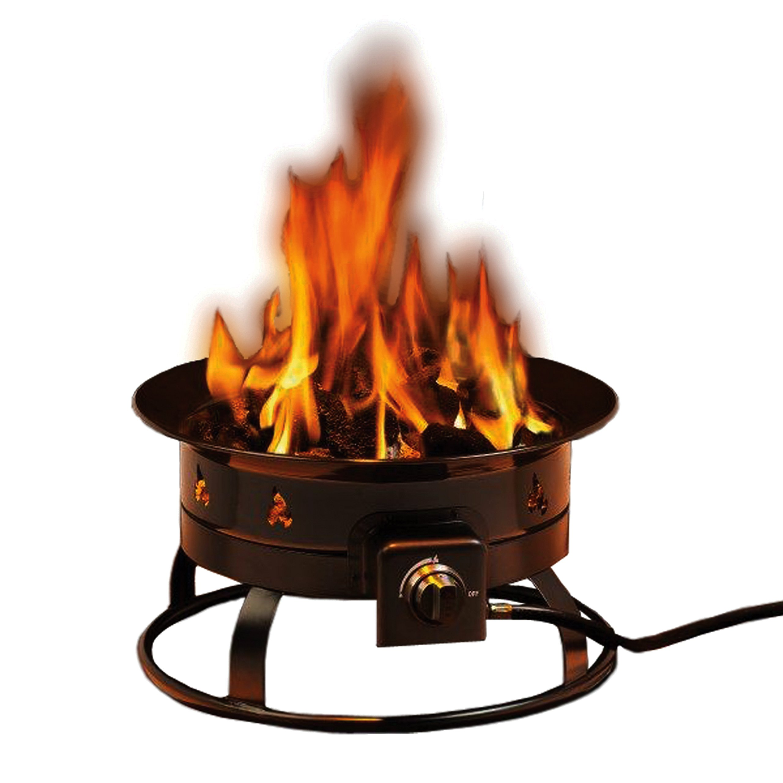 Heininger 5995 58,000 BTU Portable Propane Outdoor Fire Pit by Heininger