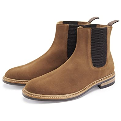 dd9608244780 Samuel Windsor Men's Prestige Suede Chelsea Boots: Amazon.co.uk ...