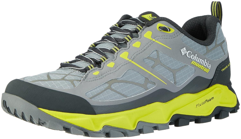 Columbia Trans Alps II, Zapatillas de Running para Asfalto para Hombre 47 EU|Gris (Light Grey/ Zour)